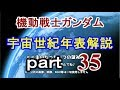 【機動戦士ガンダム】ゆっくり 宇宙世紀 年表解説 part35