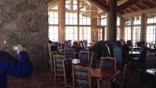 Snow Basin mountain top lodge 2013