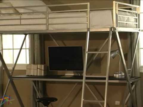 duro z bunk bed loft with desk review 2