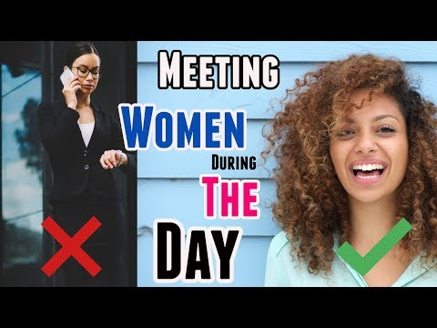 Best places to meet women during the day