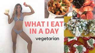 What I Eat in A Day | Vegetarian Easy Meals | FALL 2018