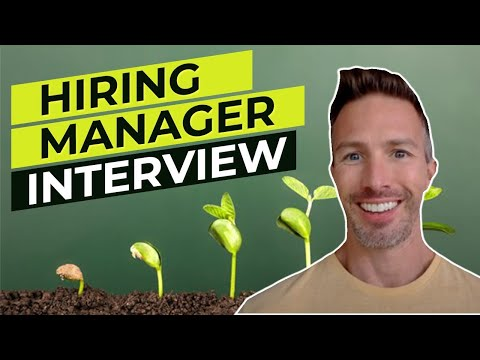 Hiring Manager Interview