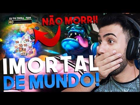 FIQUEI IMORTAL JOGANDO DE DR MUNDO NA JUNGLE - RodiL  League of Legends
