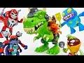 The Trash-O-Saur Chomps & Chew Grossery Gang~! - ToyMart TV