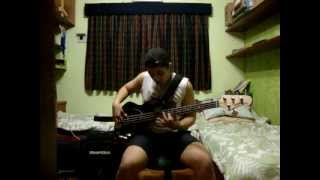 Easily - Red Hot Chili Peppers (bass Cover)