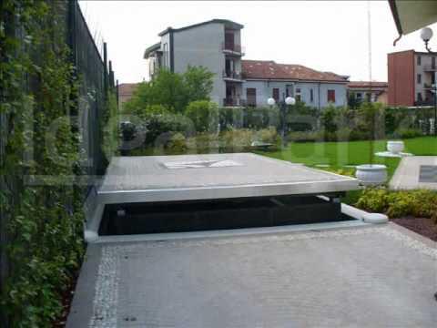 Ascensori per auto idealpark youtube for Ampio garage per auto