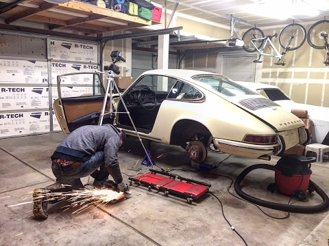 Project Classic 1969 Porsche 912 Rust Repair Pt.3