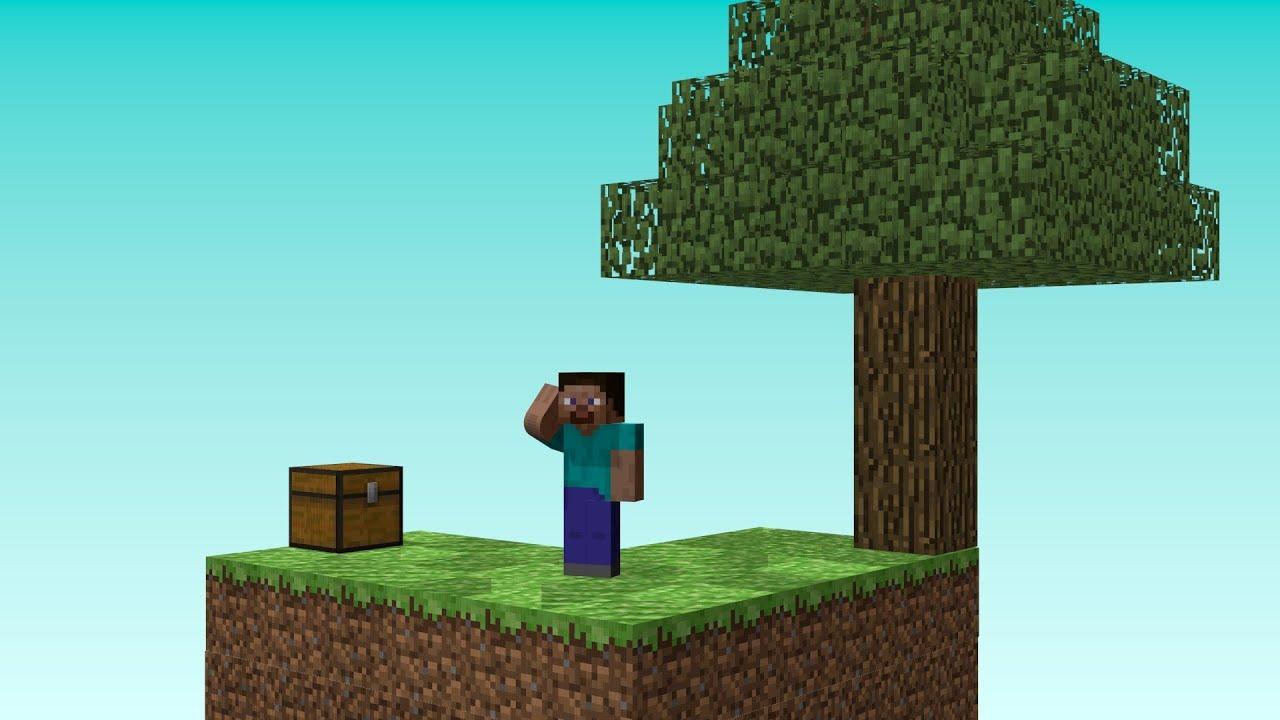 Minecraft Animation Wallpaper Skyblock Minecraft Animation Youtube
