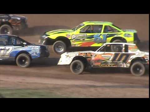 IMCA Stockcar Heat 2 Seymour Speedway 8/16/15