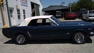 1965 MUSTANG CONVERTIBLE FOR SALE AT 500 CLASSIC AUTO