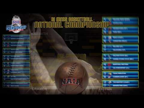 NAIA Division I Men's Basketball National Championship Selection Show