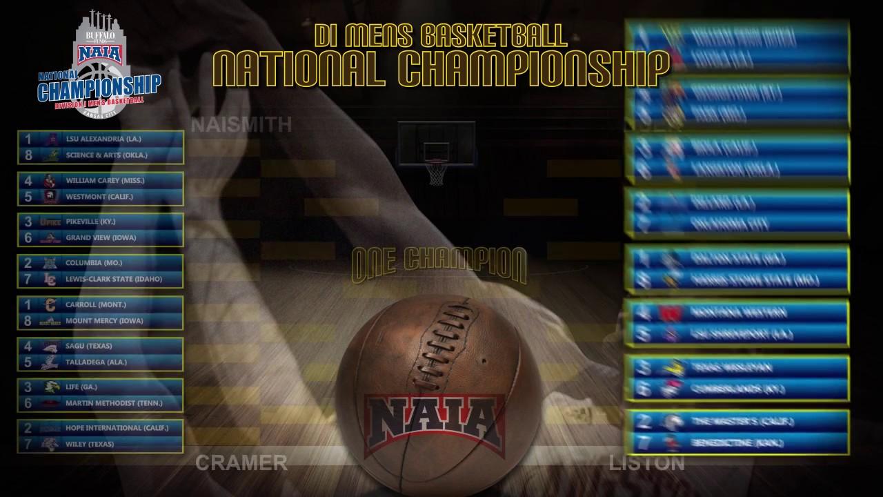Men S Basketball National Champions: NAIA Division I Men's Basketball National Championship