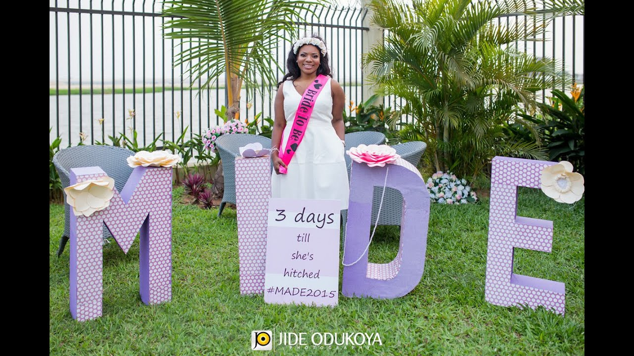 Outdoor Bridal Shower Ideas Part - 44: Mideu0027s Gorgeous Garden Bridal Shower In Lagos