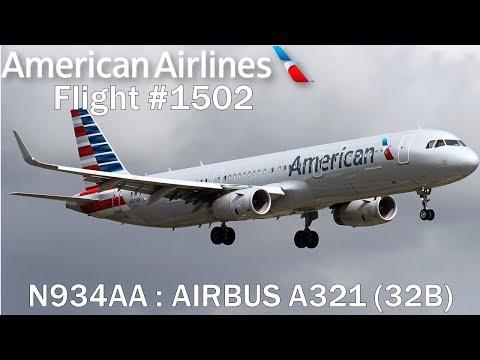 TRIP-VID : American Airlines | A321 (32B) | 1502 | PUJ - MIA