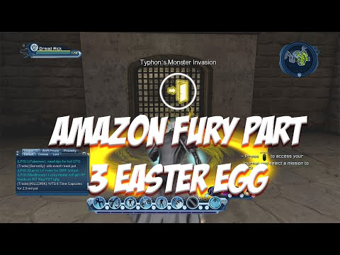 Amazon Fury Part 3 Easter Egg Dcuo(60fps)