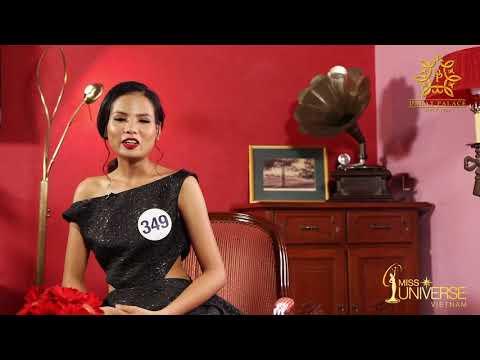 INTERVIEW | Tiêu Ngọc Linh, SBD 349 | Top 45 Miss Universe Vietnam