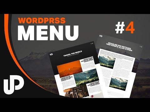 #4 Wordpress Einfach Ein Menü Erstellen! [Tutorial]