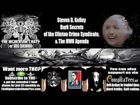 Steven D. Kelley | Dark Secrets of the Clinton Crime Syndicate, & The NWO Agenda
