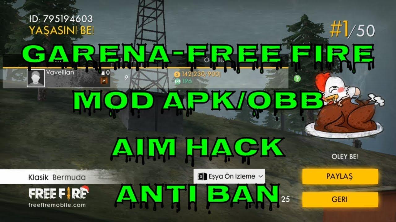 Garena Free Fire   MOD APK V1.27.0   AUTO AIM   GAMEPLAY   2019