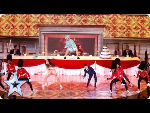 Elite Squad Royalz throw a right Royal tea party | Semi-Final 5 | Britain's Got Talent 2016