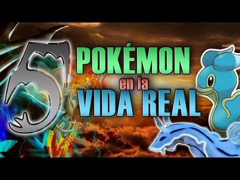 5 Pokémon en la Vida Real #3