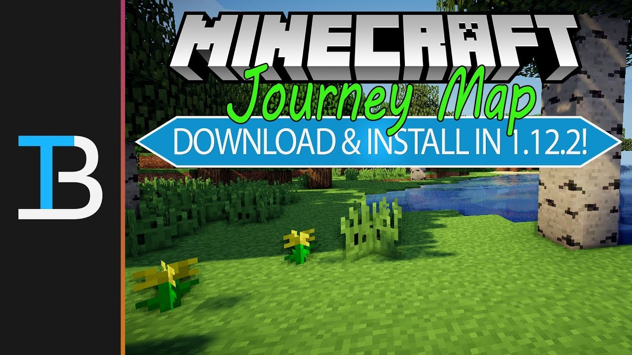 How To Download Install JourneyMap In Minecraft YouTube - Journey map para minecraft 1 10 2