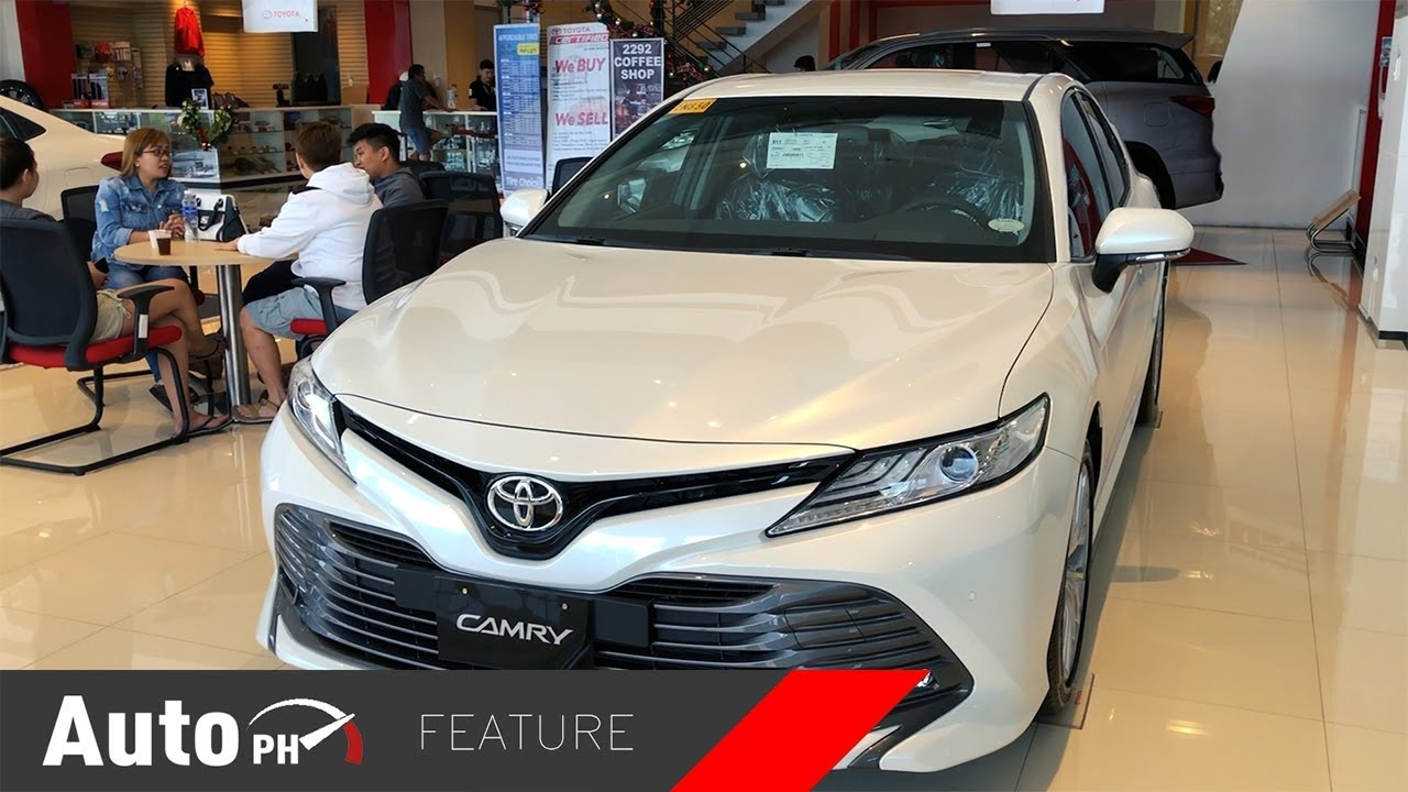 All New Toyota Camry Philippines Review Grand Avanza 2016 2019 2 5v Exterior Interior Tour