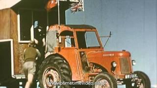 Working David Brown Tractors - Overseas Archive Film