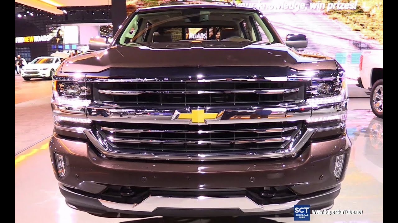 2016 chevrolet silverado high country exterior and. Black Bedroom Furniture Sets. Home Design Ideas