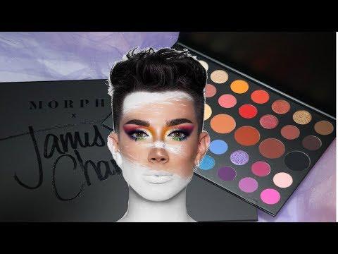 James charles palette colours names