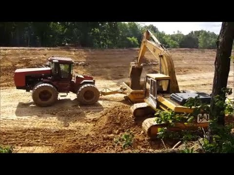 Building a New Lake Day 8! Digging Rock Bottom, Adding Water supply line & more 05-25-17