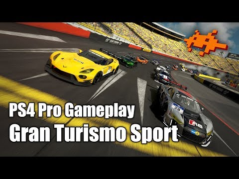 Gameplay Gran Turismo Sport - PS4 Pro [GT Sport, deutsch]