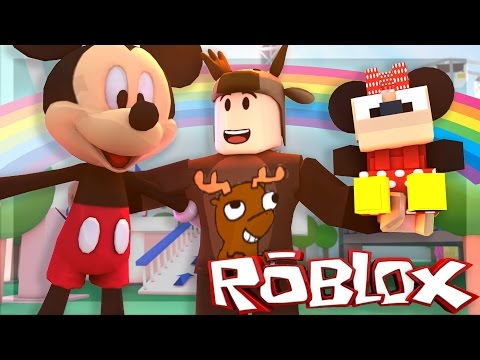 Roblox Adventures Mega Fun Obby Mickey Mouse Plays