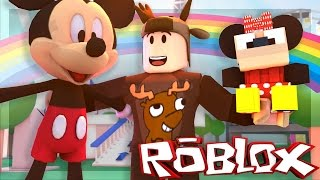 WAS WOULD HAPPEN WENN MICKEY MOUSE PLAYED ROBLOX?! (Roblox Disney World)