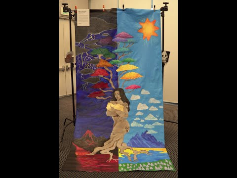 artworxLA - Pola Lopez Mural Painting (Will Rogers Continuation HS Winter 2020)