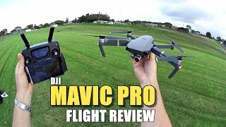 DJI MAVIC PRO Review - [Flight Test In-Depth / Pros & Cons]