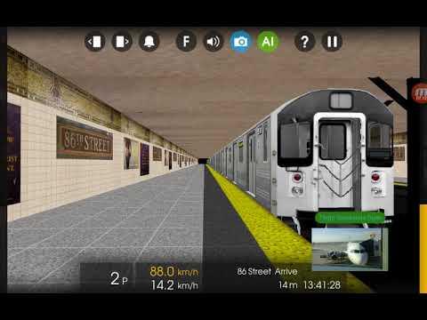 Hmmsim 2 Railfanning NYCT IRT Lines Part 2