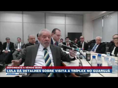 Em depoimento, Lula diz que esteve em tríplex