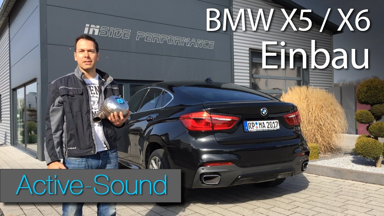 active sound einbauanleitung f r bmw x6 und x5 tutorial. Black Bedroom Furniture Sets. Home Design Ideas