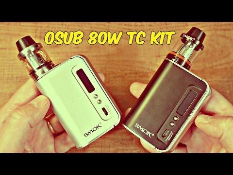 Favorite SMOK Starter Kit To Date! The OSUB 80W TC Plus!