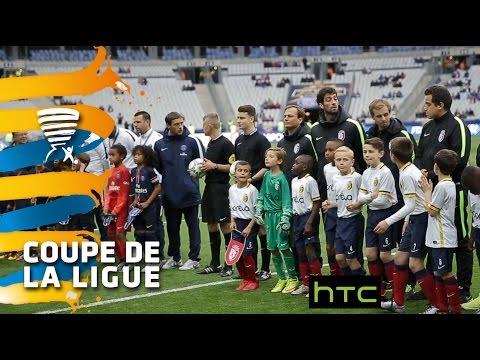 La finale des poussins du PSG et du LOSC - Finale Coupe de la Ligue 2016
