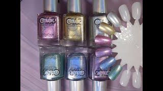 Color Club Halo Chrome Collection Swatches