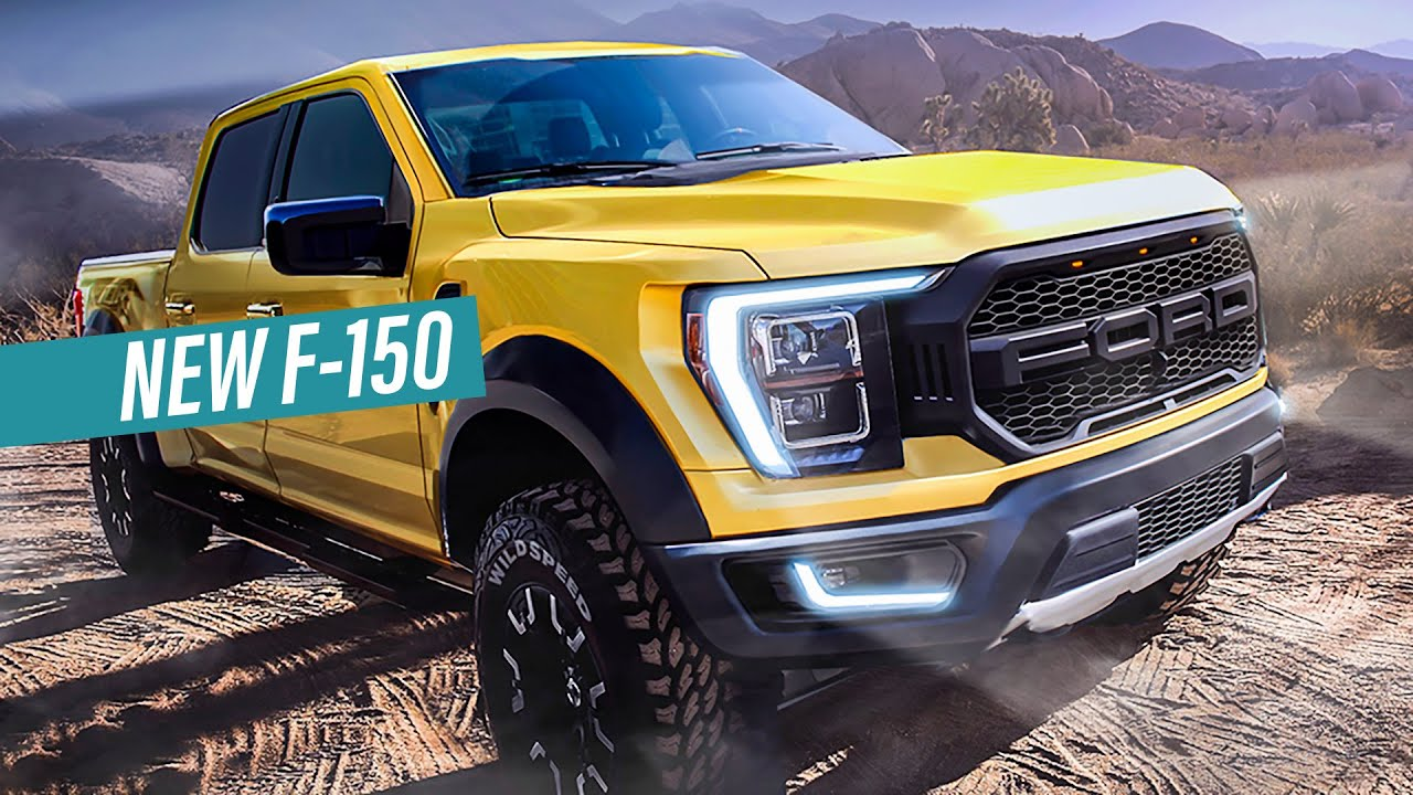 2021 Ford F-150 - Reveal Date & Interior Exposed! - YouTube