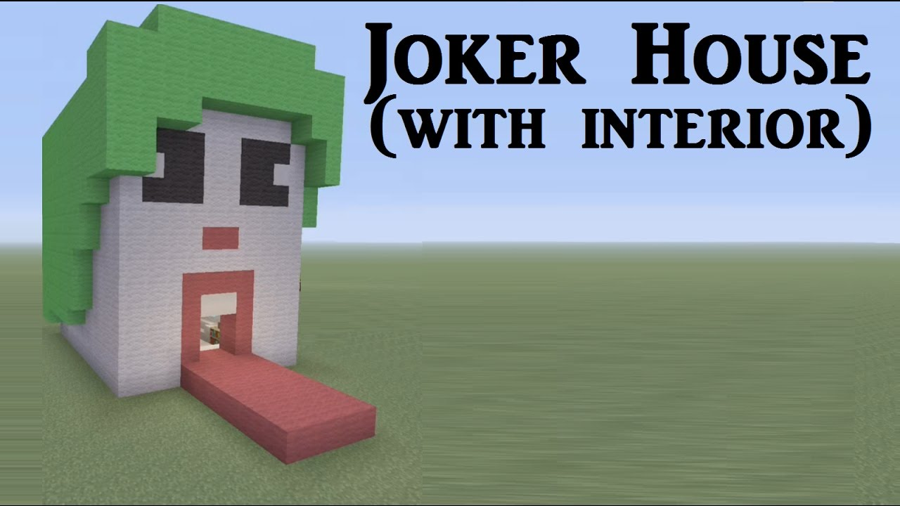 minecraft how to build a joker house youtube. Black Bedroom Furniture Sets. Home Design Ideas