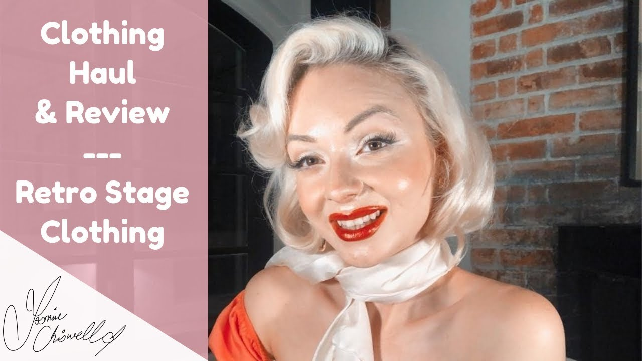 Retro Stage Clothing Haul & Review | Jasmine Chiswell - YouTube