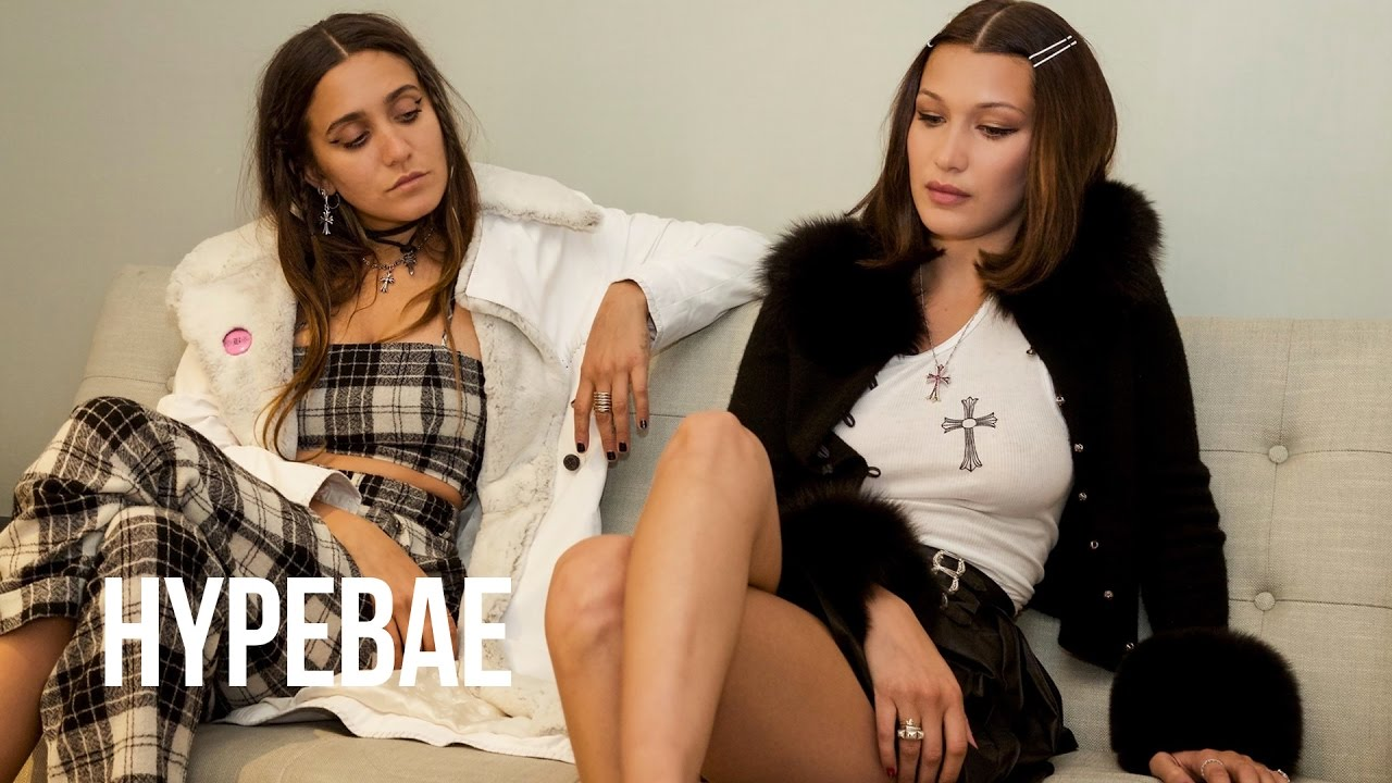 3054a83a2f7 Bella Hadid Spills Details on Chrome Hearts Collab in This Interview ...