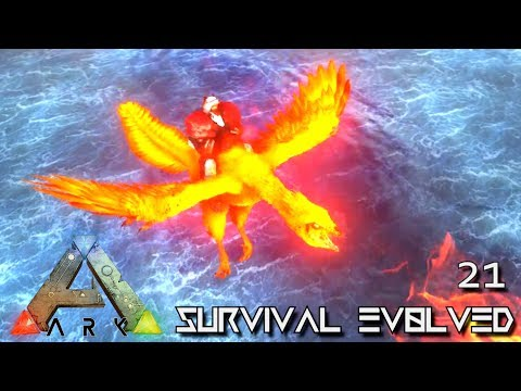 ARK: SURVIVAL EVOLVED - NEW FIREBIRD & ALPHA DOEDIC TAMING !!! E21 (MODDED ARK EXTINCTION CORE)