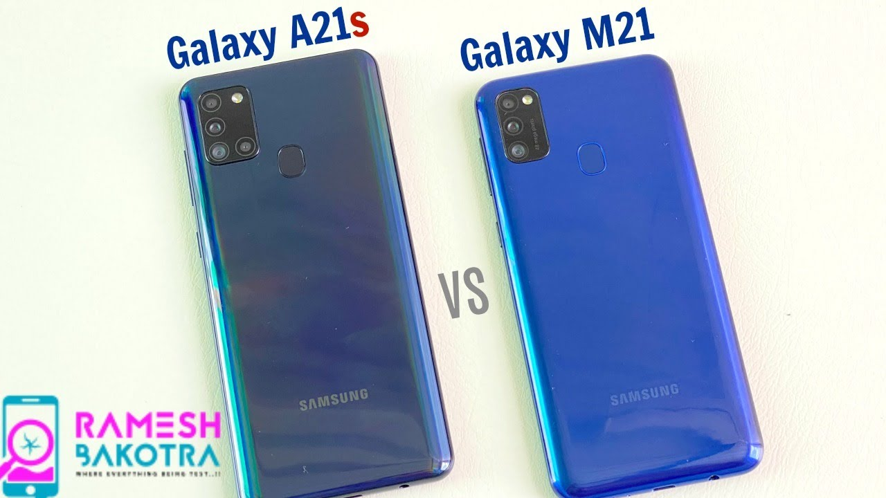 Samsung Galaxy A21s vs Galaxy M21 SpeedTest and Camera Comparison