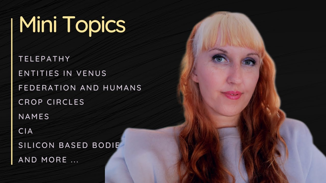 Extraterrestrial Information - Data and Fun Facts - Mini Topics with Gosia