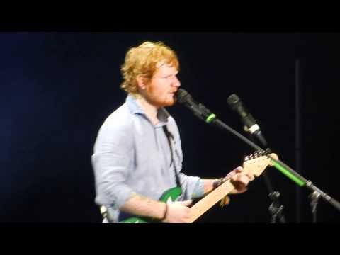 Ed Sheeran Kiss Me/Thinking Out Loud Klipsch Music Center July 2nd 2015